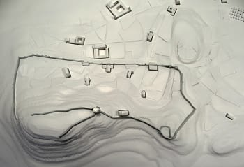 Huete's topographical model (Cuenca)